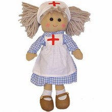 Large Nurse Rag Doll